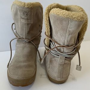Timberland Womens Winter Ankle Boots Sz 9M.